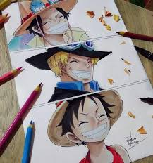 ace sabo and luffy one piece