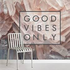 Best office wallpapers Room Good Vibes Only Motivational Wallpaper 52dazhew Office Wallpaper Murals Wallpaper