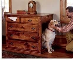 Furniture Dog Crates Foter Regarding Nightstand Dog Kennel