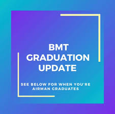 update air force bmt graduation and