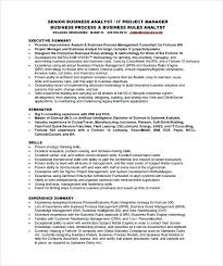 Business Analyst Healthcare Resume Resume Samples For Business