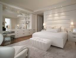 bedroom wall mirror white design