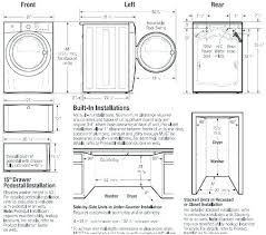 Standard Dimensions Of A Washer And Dryer Honk Com Co