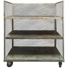 Vintage Metal Kitchen Cart Viyet Designer Furniture Storage Vintage Tiered Metal