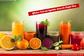 effective fruit and vegetable juice for