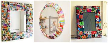 easy simple diy ideas for mirror frame decorations diy