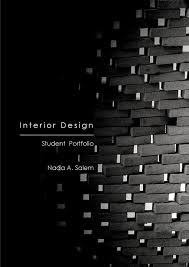 Interior Design Portfolio Ideas interior design portfolio nada salem