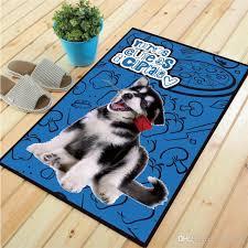 2019 pet dog bathroom suction kitchen anti skid carpet lovely doormat non slip kitchen carpet toilet rugs home decoration living room bedroom mat from