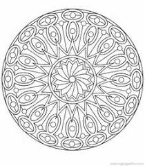 Small Picture Fantasy Coloring Pages for Adults Free Mandala Coloring Book
