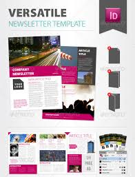 newsletter template for pages versatile newsletter template print design designleo com