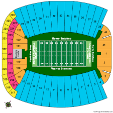 Doak Campbell Seating Chart Rows Doak S Campbell Stadium Seating Chart Doak S Campbell