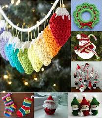 Christmas Ornament Patterns Adorable 48 Awesome And Free Crochet Christmas Ornament Patterns