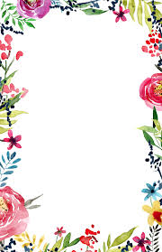 Free Printable Flower Borders Clipart Images Gallery For