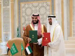 ولي عهد أبوظبي يبحث في السعودية خلافات اوبك+