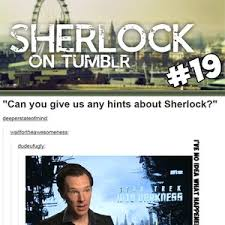 Sherlock On Tumblr #19 by ten - Meme Center via Relatably.com