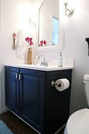 grey and blue bathroom accessories. navy blue cabinet for guest bath grey and bathroom accessories