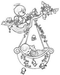 Small Picture Guardian Angel Drawings guardian angel taking care a baby