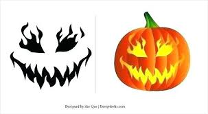 Easy Pumpkin Carving Patterns Stunning Scary Pumpkins Designs Easy Pumpkin Carving Patterns Printable