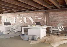 industrial office decor. industrial office decor gray magazineu0027s open concept e