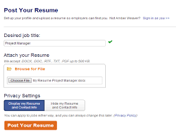 Submit Your Resume Online Job Site 11 Best Sites To Post For Free