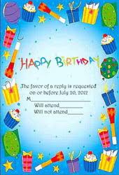 invitations cards free birthday invitation cards
