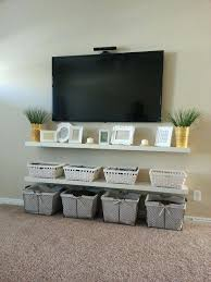 tv wall mount shelves image result for with shelf under hanging on wall mount cable box
