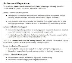 Example Of Resume With Work Experience Examples Of Resumes