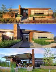 rustic modern residential architecture. Interesting Residential Prairie Style Architecture  Rustic Modern Earth Wood U0026 Steel HighDesert  Home Designs Ideas  Throughout Modern Residential E