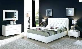white leather bedroom set – offshoreiron.com