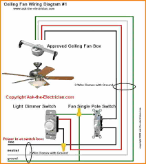 6 wiring diagram for ceiling fan with light