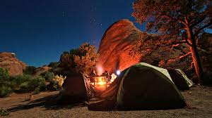 camping in the woods at night. So You Want To Go Camping For The Very First Time In Woods At Night