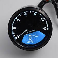 universal speedometer universal motorbike speedometer odometer kmh mph 12000rpm led backlight