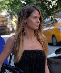 heidi klum make up free new york city 06 13 2017