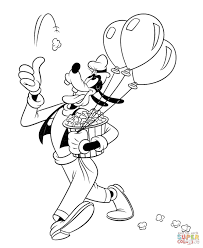 Small Picture Goofy coloring pages Free Coloring Pages
