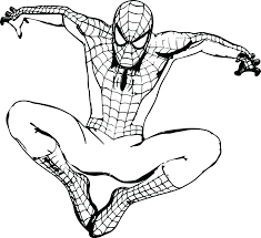 Spider Man Coloring Page Wanderlive Co