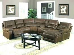new curved sectional recliner sofas for