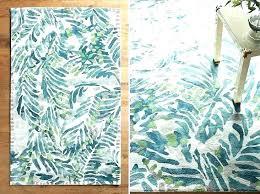 palm leaf print rug leaves area bath mat rugs banana patio