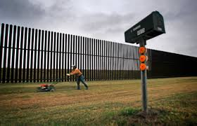 Border Is Wall A Town Texas In Reality Time Trump's Donald This