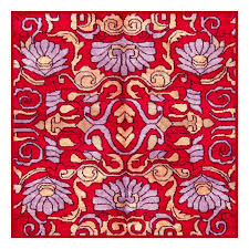 Persian Design Fabric Persian Design Red And Violet By William Morris Design