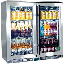 mini refrigerator glass door mini refrigerator ss door rhino 2 alfresco outdoor bar fridge model compact