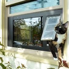 best cat door window inserts safe cat