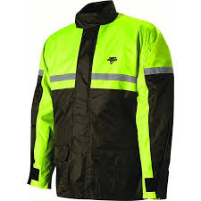 Nelson Rigg Sr 6000 Stormrider Unisex Rain Suit Yellow Small High Visibility Two Piece Hi Visibility