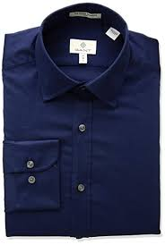 Gant Mens Stretch Plain Sateen Slim Town Shirt At Amazon