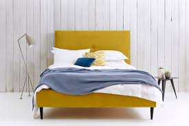 modern upholstered bed. Cost With Selections: Modern Upholstered Bed A