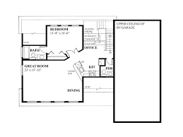 garage plans with office. 2nd Floor Plan, 010G-0017 Garage Plans With Office