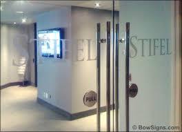 door entry door push pull handles