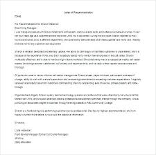 Pa School Letter Of Recommendation Sample Gallery - Letter Format ...