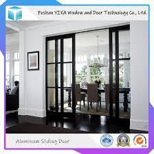 Sliding Door Designs For Balcony Hot Item Functional Double Glass Aluminium Sliding Door For Kitchen Bathroom Balcony