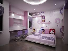 amusing decorating cool kids rooms for girls applying pink interiors with double bed also furnished with wall cabinet plus cabinet lightings and completed amusing cool kid beds design