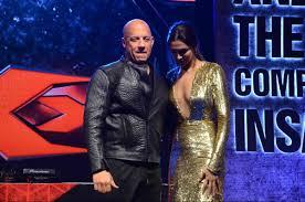 XXX Return of Xander Cage Vin Diesel Deepika entertain fans.